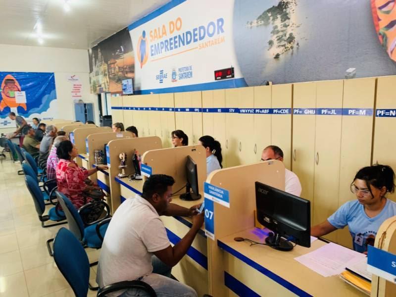 'Negócio Legal' dá oportunidade para empreendedores saírem da informalidade, em Santarém