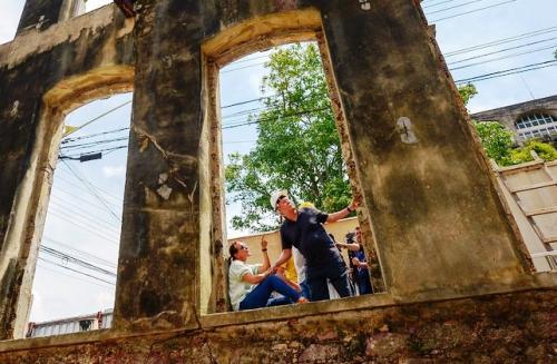 Prefeito visita obras de revitalização do Centro Histórico de Manaus
