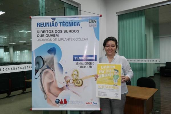 Prefeitura de Manaus apresenta à OAB/AM programa sobre direito da pessoa surda
