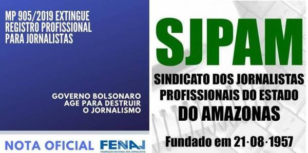 Governo Bolsonaro age para destruir Jornalismo com MP inconstitucional, diz Fenaj