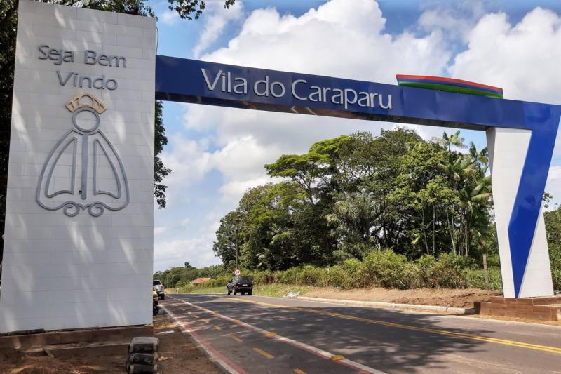 Estrada do Caraparu é reconstruída em Santa Izabel do Pará