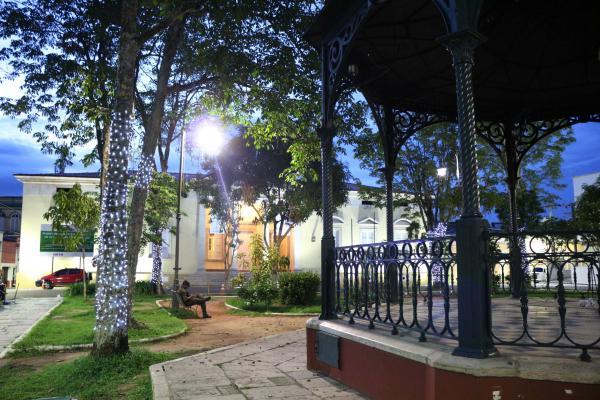 Praça Dom Pedro II será requalificada dentro do projeto 'Manaus Histórica'