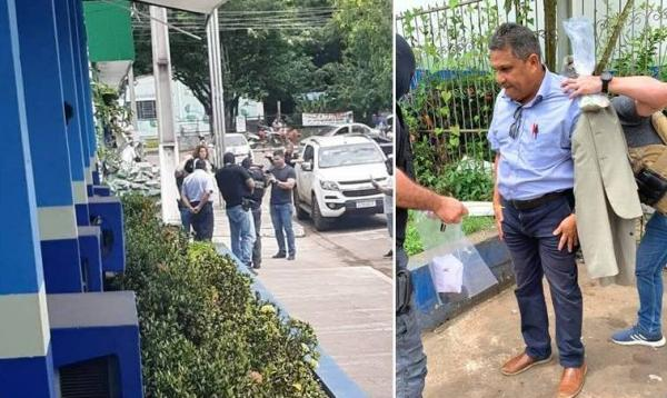 Vereador de Iranduba (AM) é preso em flagrante recebendo propina