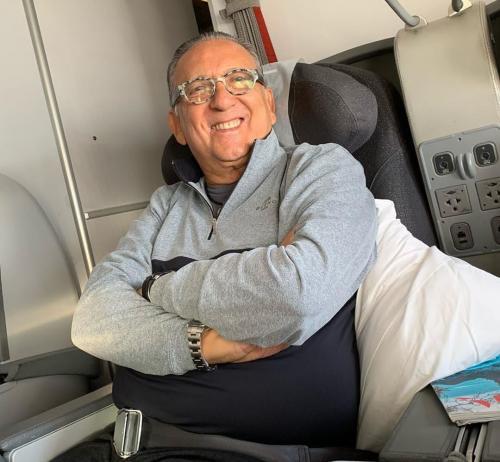 Galvão passa mal em Lima e Luis Roberto vai narrar final da Libertadores