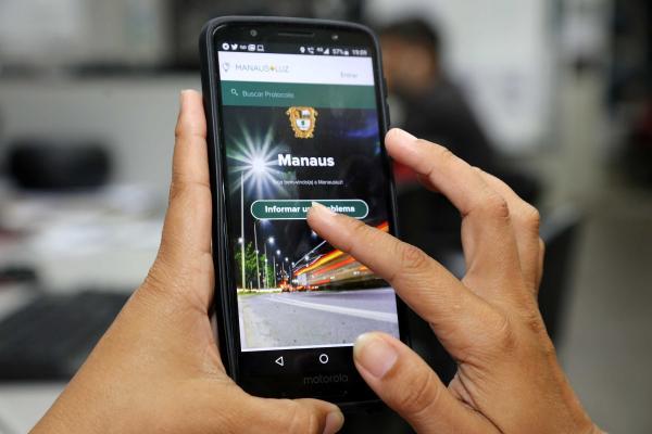 Aplicativo 'Manaus+Luz' atende mais de 23 mil pessoas em um ano