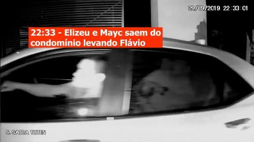 Caso Flávio: Câmeras de segurança reforçam depoimentos que apontam Mayc como autor do crime; veja