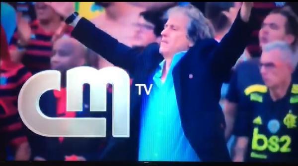 Portugal de Jorge Jesus na torcida pelo Mengão; veja chamada da maior TV do país