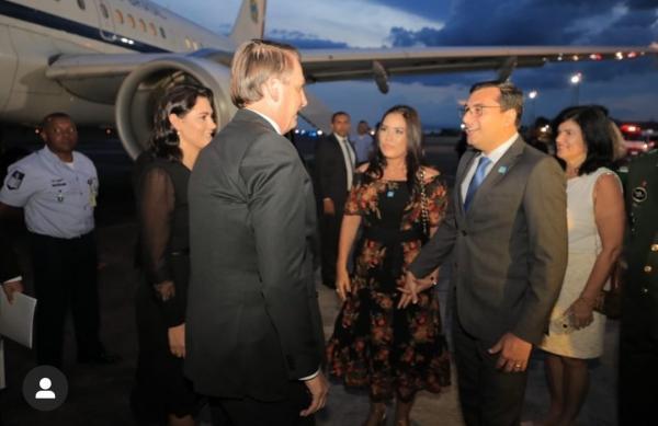 Bolsonaro chega a Manaus para evento da Suframa