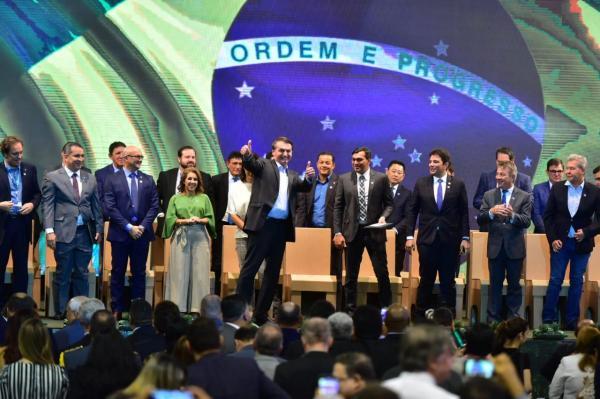 Wilson Lima e Bolsonaro abrem Feira de Sustentabilidade do PIM, em Manaus
