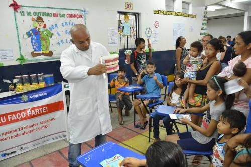 'Prefeitura + Presente' realiza mais de 3 mil atendimentos na zona Norte de Manaus
