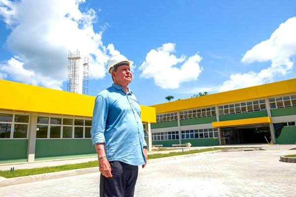 Primeiro centro integrado de Manaus está quase pronto para receber alunos no ano de 2020