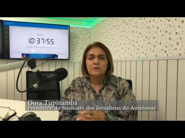 Jornalistas do AM realizam ato contra extinção do registro profissional nesta quarta (4)