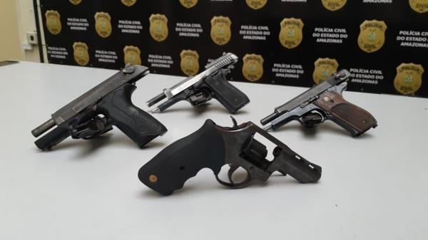 Policial que apreender arma de fogo será recompensado em até R$ 1 mil, no AM