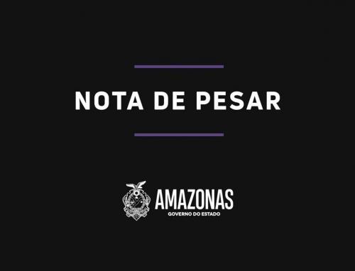 Wilson Lima divulga Nota de Pesar pela morte de Lúcia Almeida