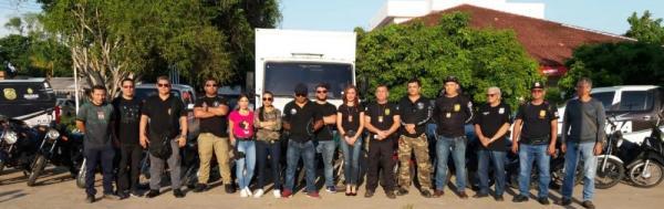 Operação da Polícia apreende 16 motos e um caminhão, em Parintins