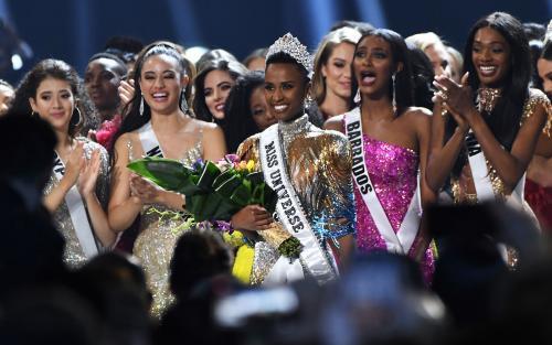 [Miss África do Sul é coroada como Miss Universo 2019]