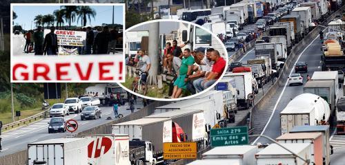Caminhoneiros confirmam que irão entrar em greve nacional na próxima semana