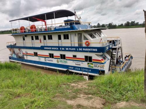 UBS Fluvial atende mais de 400 pessoas no Limão de cima e Paraná de Parintins