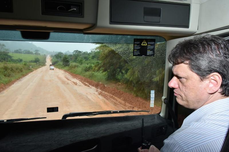 Ministro da Infraestrutura anuncia para 2020 conclusão da BR-163 até Santarém