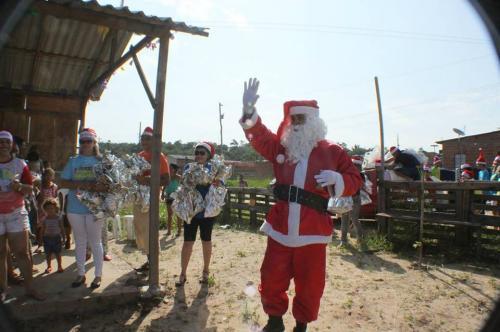 Amigos do Papai Noel irão levar brinquedos, amor e alegria a mais de 4 mil crianças de Manaus e adjacências