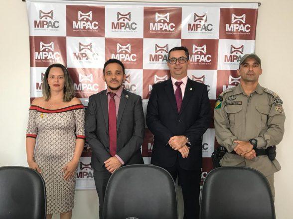 MP do Acre firma parceria com MP/AM para ações na área do trânsito e segurança