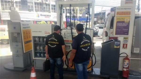 Gasolina tem menor preço a R$ 3,97, aponta pesquisa do Procon-AM em postos de Manaus