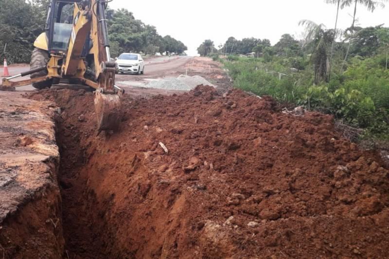 Reconstrução da PA 150 chega ao trecho de Jacundá