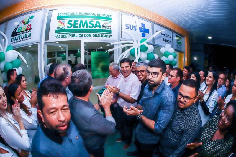 Estado inaugura obras em programação de aniversário de Itaituba