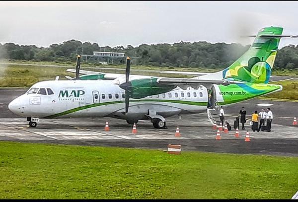 Princípio de incêndio no voo da Map Manaus Carauri