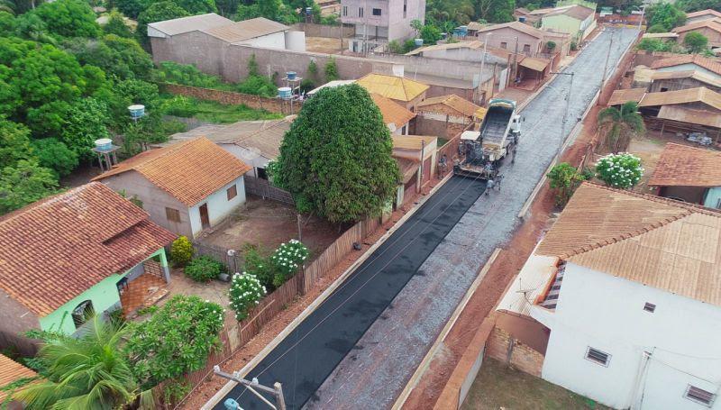 Área Verde recebe investimento de R$ 3 milhões em pavimentação