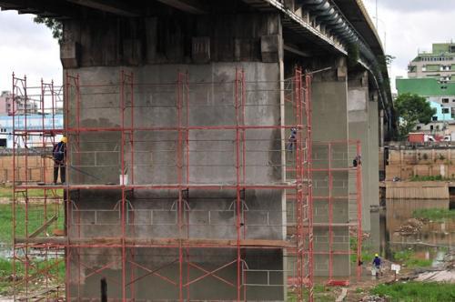 Reforma da ponte do Educandos, em Manaus, já está 20% concluída