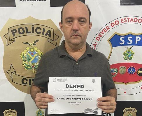 Empresário é preso envolvido em esquema que desviou mais de R$ 5 milhões, em Manaus