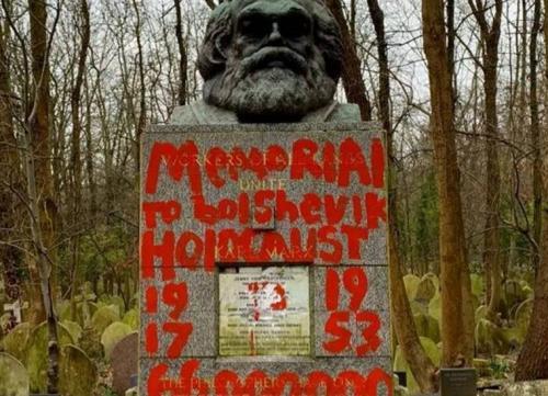 Depois de dois ataques, túmulo de Marx será vigiado por câmeras