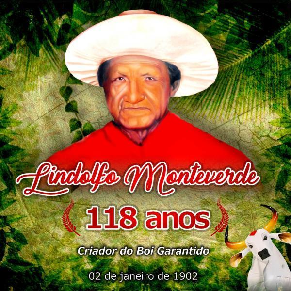Baixa de São José festeja 118 anos de mestre Lindolfo Monteverde, fundador do Garantido