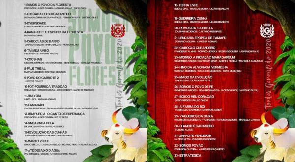 Boi Garantido anuncia CD duplo com 33 toadas para o Festival 2020