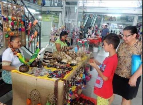 Prefeitura e Instituição levam feira de artesanato para Shopping Via Norte