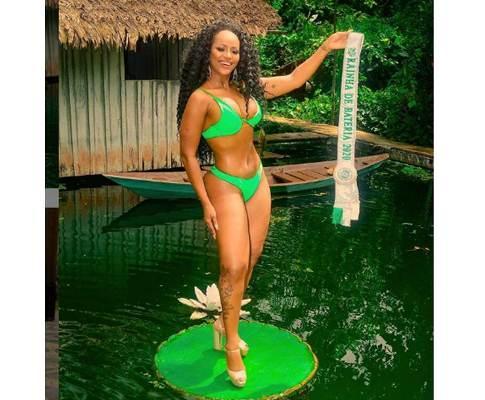 Rainha da Aparecida, Juh Campos disputa coroa de Rainha do Carnaval de Manaus 2020
