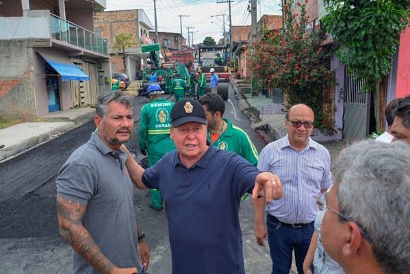 Com 40 obras em execução, Manaus usa sistema de controle para garantir eficiência