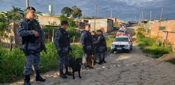 | SSP-AM deflagra operação 'Domínio da Lei' contra tráfico de drogas na zona norte
