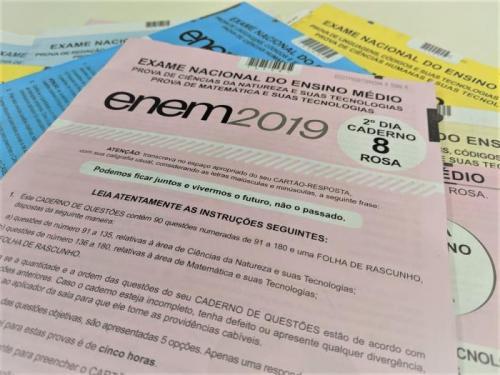 Inep divulga notas do Enem 2019