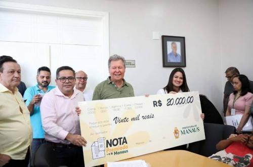 Campanha 'Nota Premiada Manaus' supera 10 mil cadastros