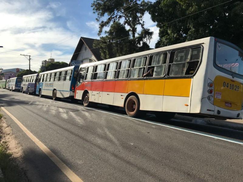 Prefeitura de Santarém reforça frota de ônibus no dia do concurso do TJ/PA