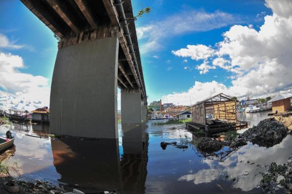 Ponte do Educandos, em Manaus, será fechada para continuidade de revitalização