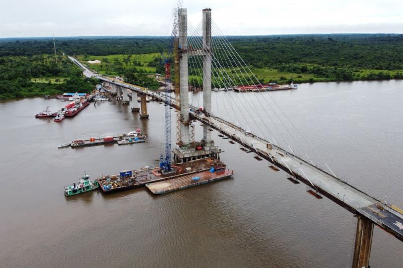 Ponte Rio Moju, no Pará, será entregue em 31 de janeiro, diz governo