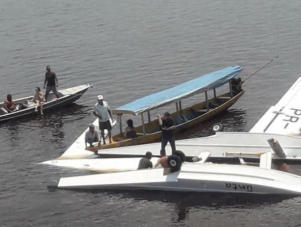 MPF denuncia piloto de avião envolvido em acidente aéreo no Amazonas