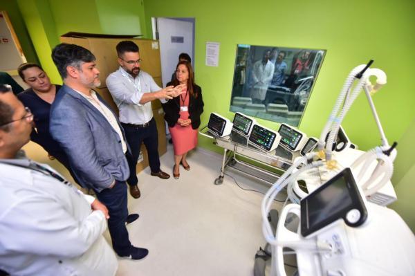 Novos equipamentos para UTI e centro cirúrgico são instalados no Hospital Francisca Mendes