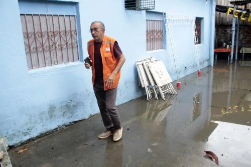 Defesa Civil registra 18 ocorrências por conta da chuva nesta terça (21), em Manaus