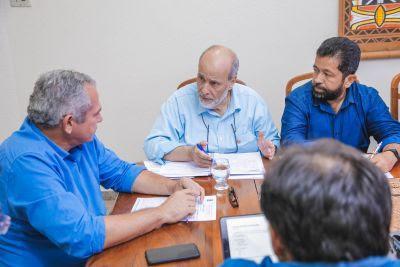 Prefeito apresenta à Cosanpa prioridades dos bairros em Santarém que precisam de abastecimento