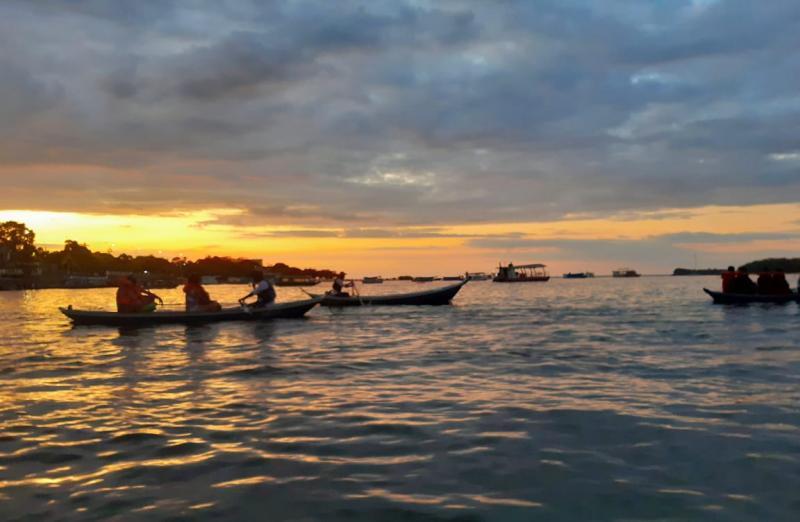 Prefeitura de Santarém realiza primeiro Pôr do Sol de 2020 na Ilha do Amor