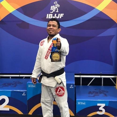 Parintinense Junior 'Orelha' é campeão europeu de Jiu-Jitsu, em Portugal